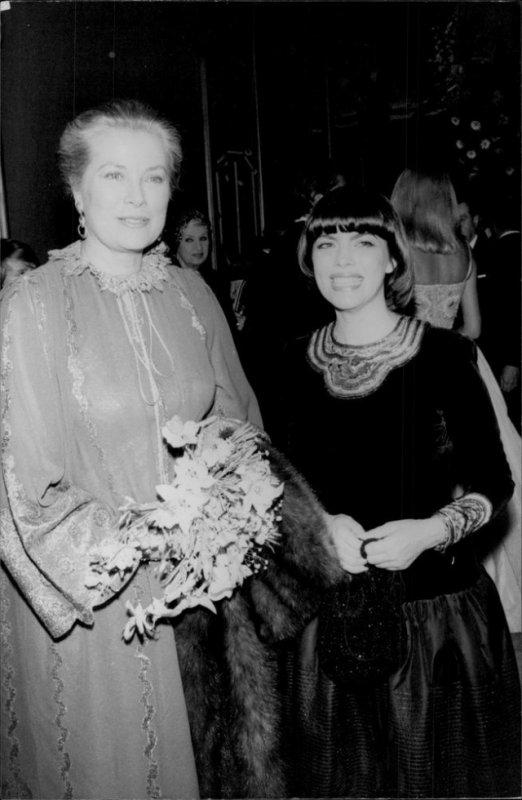 Avec la princesse Grace de Monaco