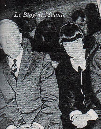 Avec Maurice Chevalier