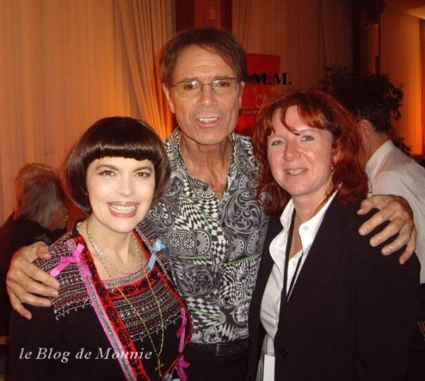 Mireille Mathieu et Cliff Richard