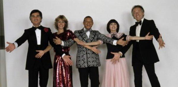 Jean-Claude Brialy, Dorothée, Henri Salvador, Mireille Mathieu et Jean-Pierre Cassel