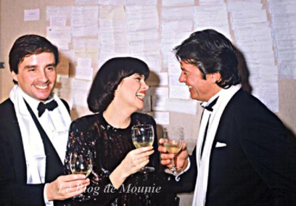 Thierry le Luron, Mireille Mathieu et Alain Delon