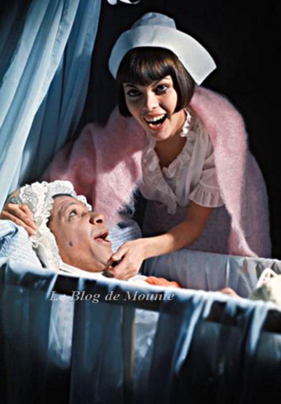 Henri Salvador et Mireille Mathieu