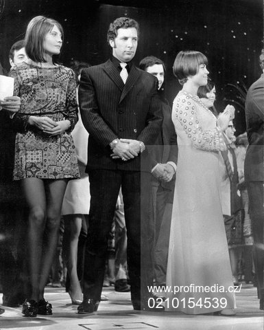 Sandie Shaw, Tom Jones et Mireille Mathieu