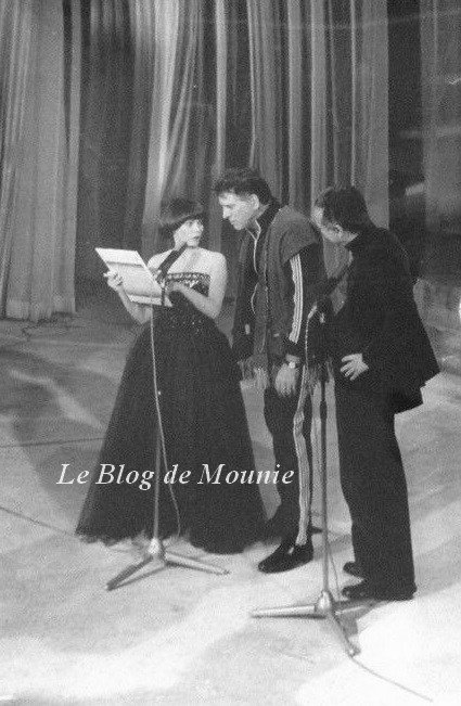 Mireille Mathieu et Burt Lancaster