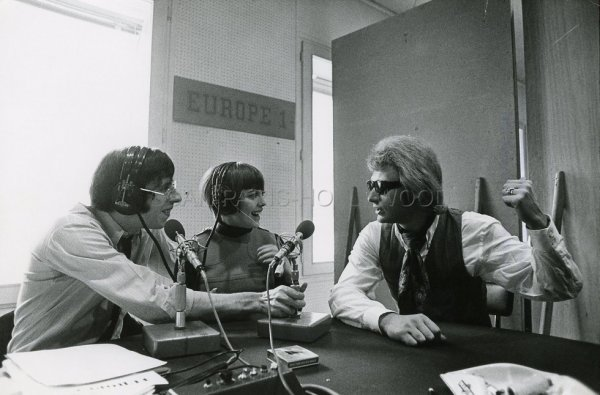 Patrick Topaloff, Mireille et Johnny Hallyday