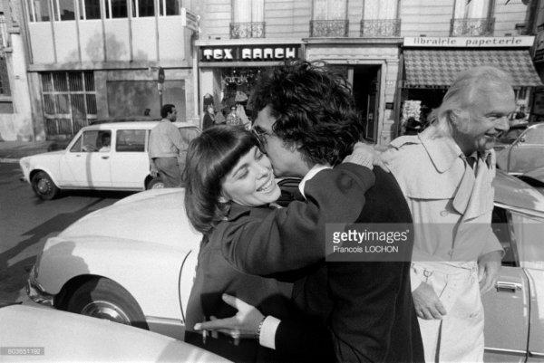 Mireille et Michel Sardou