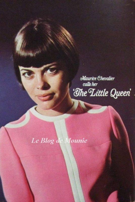 """Maurice Chevalier l'appelle """"La petite reine"""""""