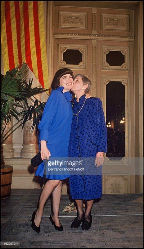 Mireille et sa mère Marcelle