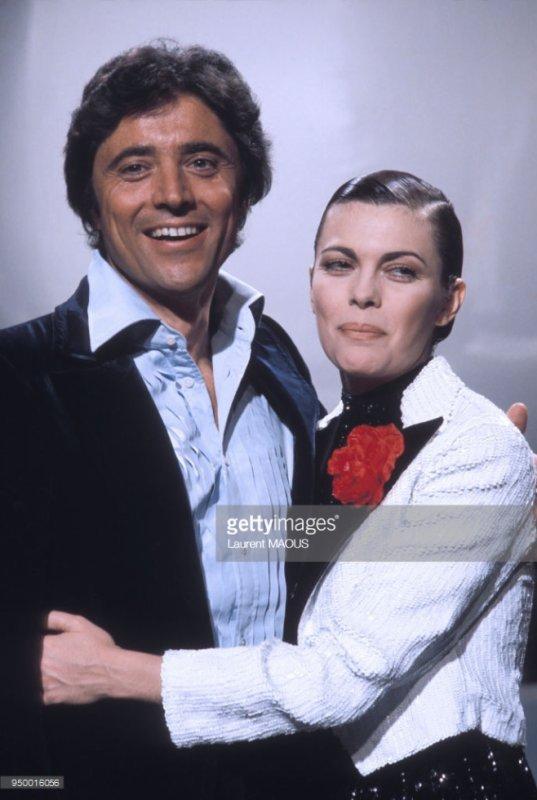 Sacha Distel et Mimi