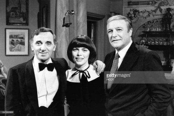 Charles Aznavour Mireille et Gene Kelly