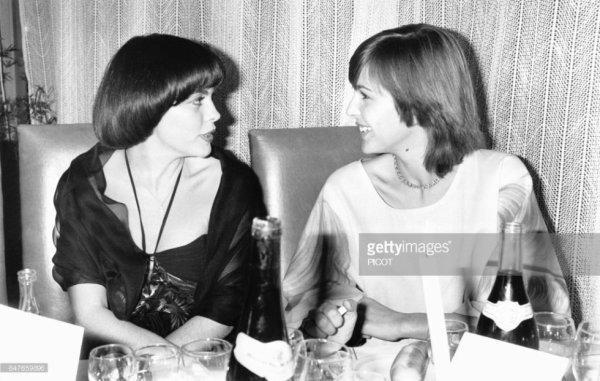 Mireille Mathieu et Veronique Jannot