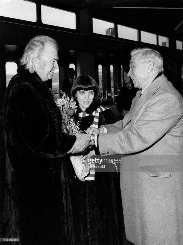 Mireille Mathieu, Johnny Stark et  Jochen Richert - 1976