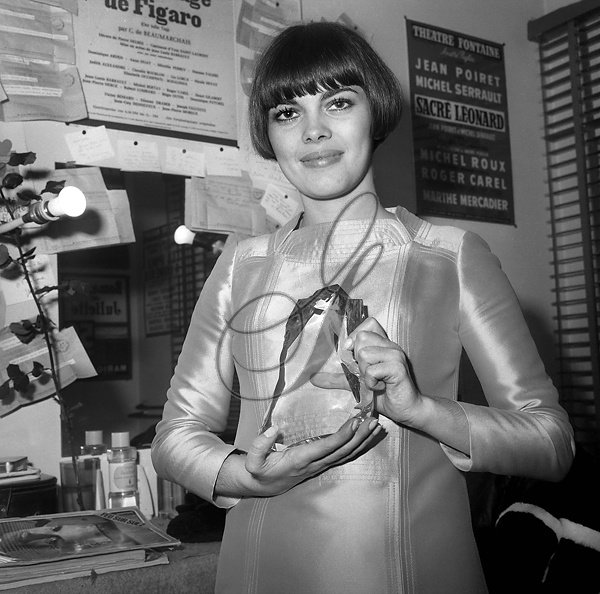 """22 ème """"Nuit du Cinema"""" à Paris en  novembre 1967"""