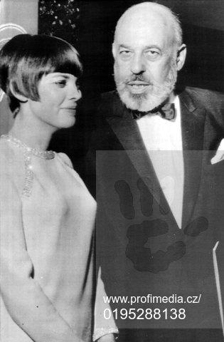 Stanley Marcus et  Mireille Mathieu