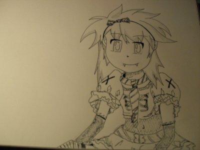 dessin manga lolita