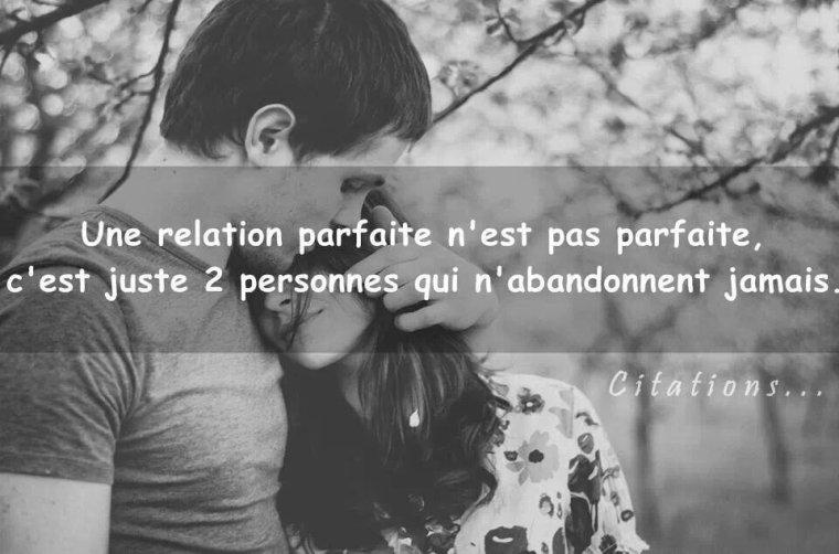 Une relation parfaite ☆