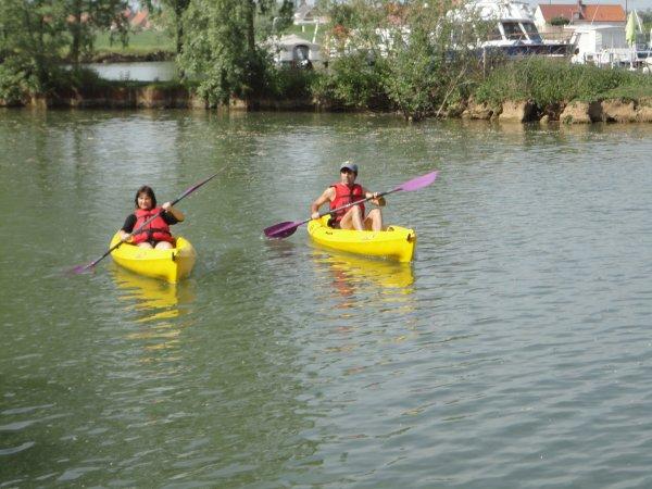 sortie en kayac