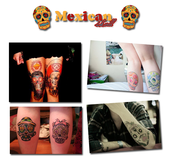 Thème : Crâne mexicain