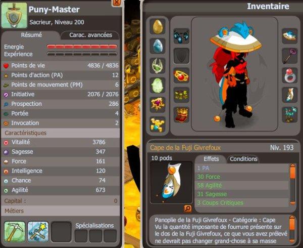 Présentation des personnages de la team