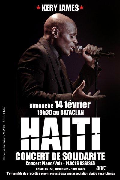 """Kery James Concert Solidarité Haïti // on est pas condamner a l""""echec !!!"""
