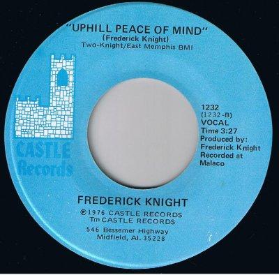 ! Uphill Peace Of Mind ! Titre écrit par le talentueux Frederick Knight