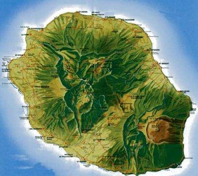 île de la Réunion!!!