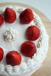 Strawberry shortcake(goûter ou dessert) miam miam