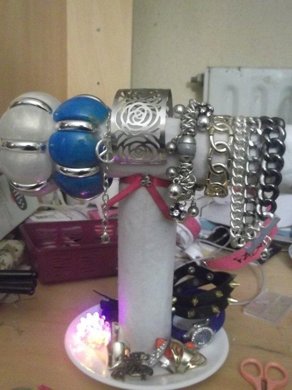 DIY Bracelets holder inspirer par stylelifebarbz