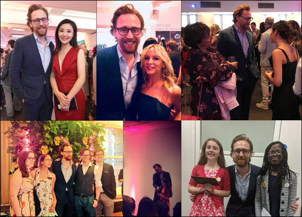 13.06.2018 : Tom Hiddleston , enfin de sortie s'est rendu au BAFTA After Party à Londres
