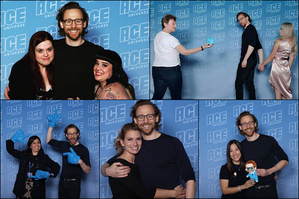 12/01/2019 :  Tom Hiddleston avec des fans était présent à la convention « Ace Comic Con » en Arizona