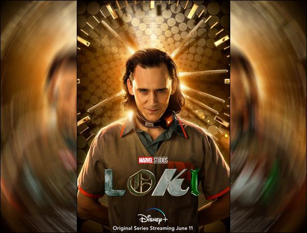 .  Découvre l'affiche de la série « Loki »  et son trailer (sortie le 9 juin 2021 sur Disney +)    .