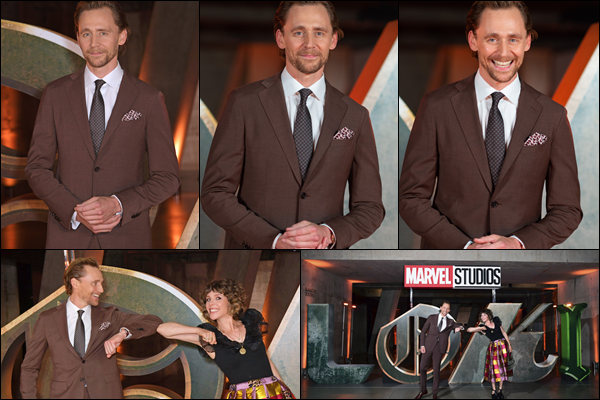 ● 08/06/2021 : Tom Hiddleston était à une projection de la série « Loki » dans la ville de Londres (Angleterre) Tom était vêtu ce jour-là d'un costume marron, les costumes lui vont très bien à notre Tom il était très élégant, un top
