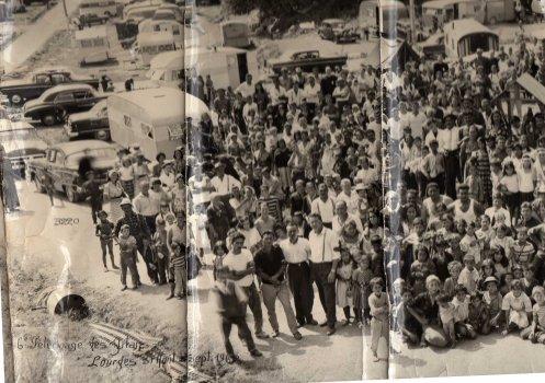 Pélérinage de Lourdes des gens du voyages de 1962  Premiere partie
