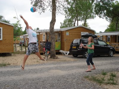 partie de volley xD