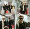 "Photo 18/02/14 : ""Voici des photos exclusives d'EXO prises par LUHAN à l'aéroport de Pékin"""