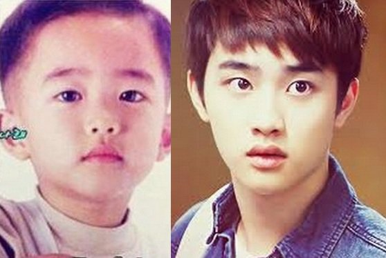 SOOMPI: De bébés mignons à adultes accomplis, les EXO en photo