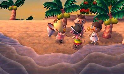 Petit moment détente avec des rencontres sur l'île. (avec mon 4ème perso)