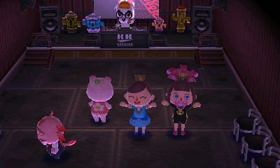 Oh Yey! C'est la fête chez Kéké avec des amis!