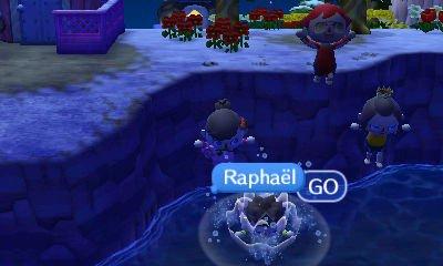 Petit concours de plonger entre amis (avec mon pote Benoit,Raphaël et une amie)