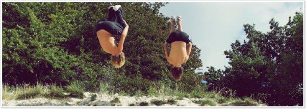 Deux saltos avec mon Popaul :)