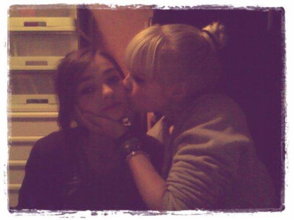 Ma meilleure amie, celle qui fait de ma vie une véritable paradis.