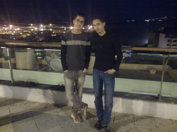 moi et mon copin