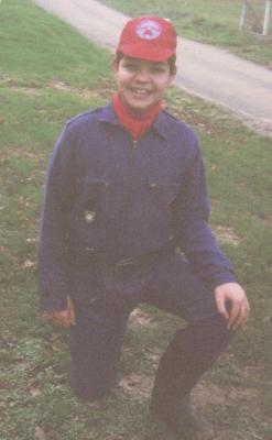 MOI EN CADET DE POMPIER - EN 1993