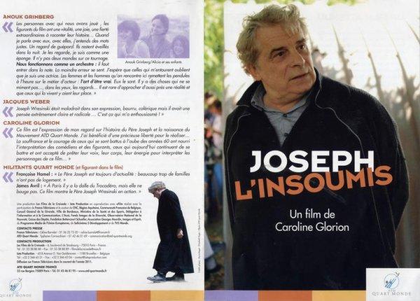 JOSEPH L'INSOUMIS - J'AI ETE FIGURANT