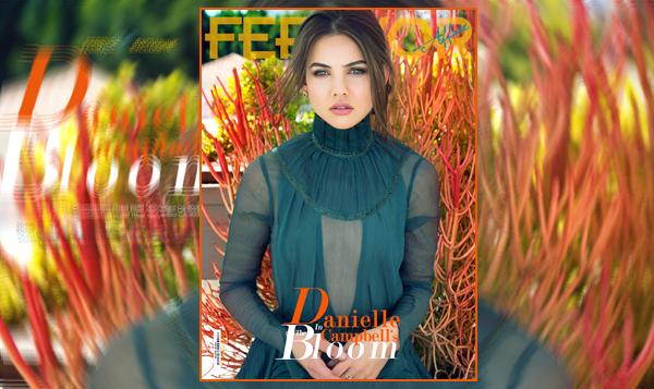 __  «FERRVOR MAGAZINE»  ● _ Découvrez le photoshoot de  Danielle pour «Ferrvor magazine» dont elle fait la couverture.  __        __