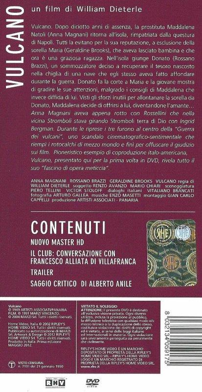 "DVD ""Vulcano"" - 1"