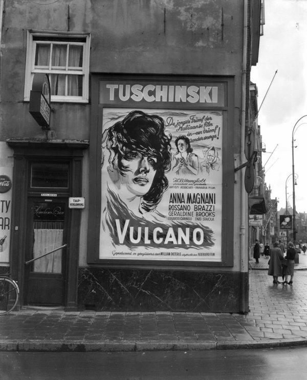 Projection du film en septembre 1950