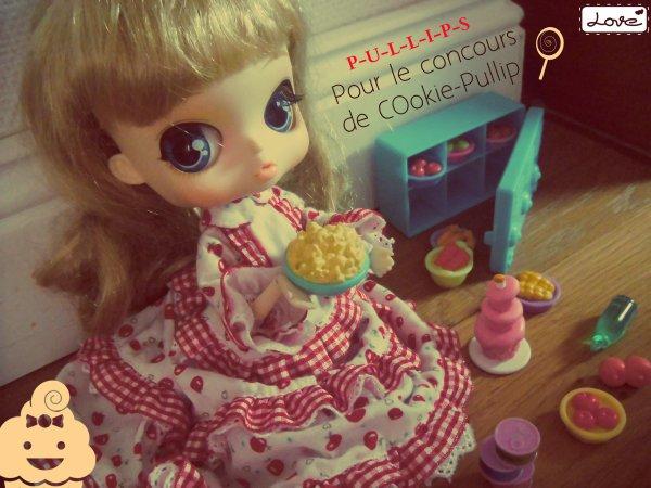 ~Pour Le Concours De COokie-Pullip : Emilie, Ma petite Gourmande d'amour (l)