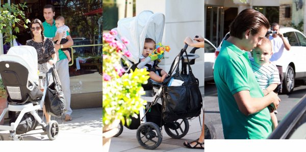 Kourtney Karadashian, Scott Disick et leur fils Mason !