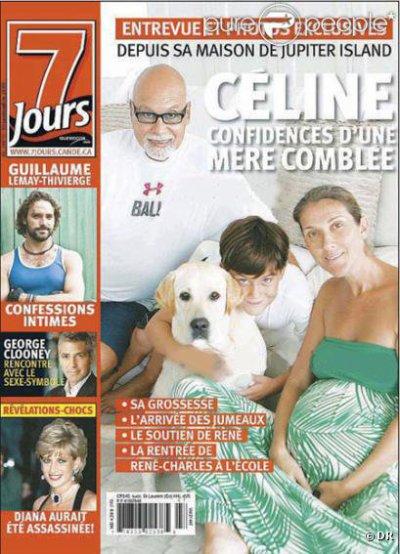 Céline Dion maman de jumeaux !